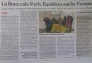 Corriere Adriatico – La Boca c7 sbanca Fermo