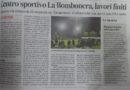 Corriere Adriatico – Lavori finiti alla Bombonera