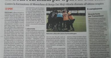 Corriere Adriatico – La Boca Girl C5 recrimina